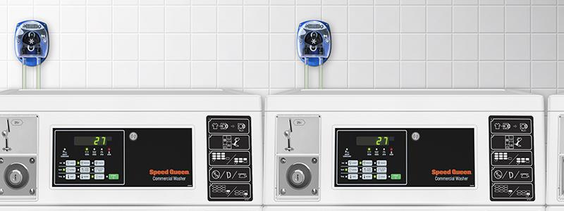 Ahorra en tus insumos: Usa dispensadores automáticos – Lavandería